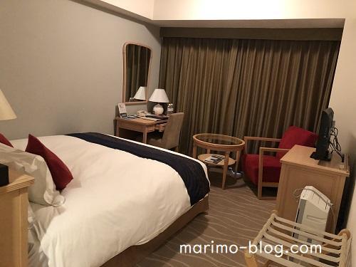 神戸メリケンパークオリエンタルホテル(スタンダードダブル・イーストビュー)室内の様子