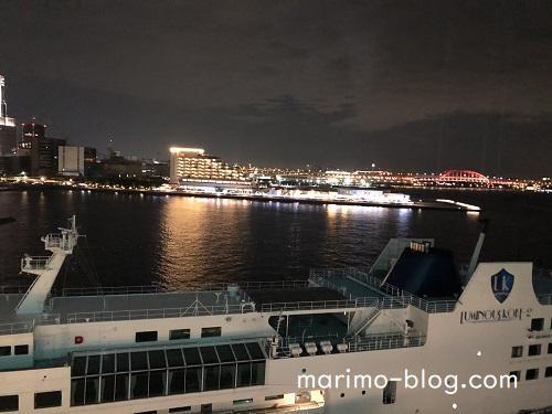 神戸メリケンパークオリエンタルホテル:イーストビューからの夜景