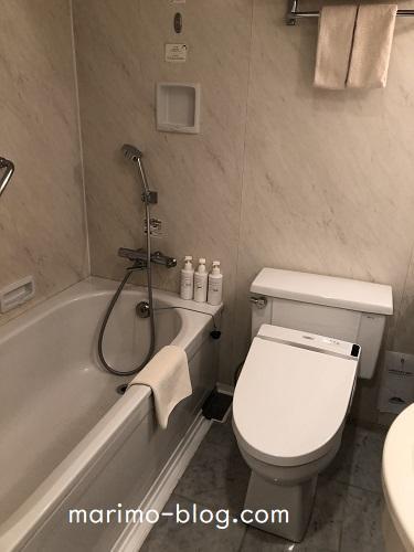神戸メリケンパークオリエンタルホテル:バスルーム(スタンダードダブル)