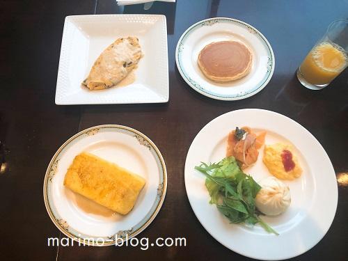 神戸メリケンパークオリエンタルホテル朝食ビュッフェ(味の感想)