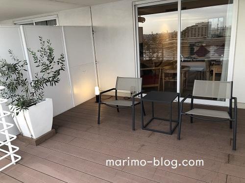 神戸メリケンパークオリエンタルホテルのシングルユース:バルコニー