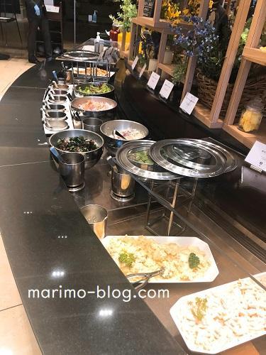 神戸メリケンパークオリエンタルホテル朝食ビュッフェ(サラダバー)