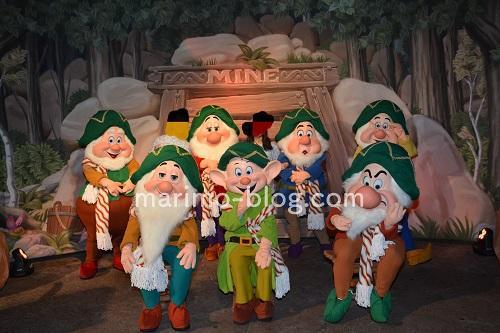 WDW:7人の小人のグリーティング(ミッキーのクリスマスパーティー)