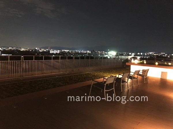 梅小路ポテル京都宿泊記:屋上