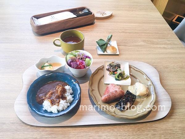 梅小路ポテル京都宿泊記:朝食ビュッフェは見た目も味も良い