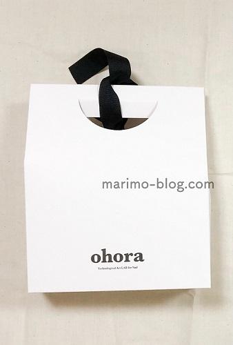 ohora(オホーラ)の2021福袋:中身(ギフトボックス)
