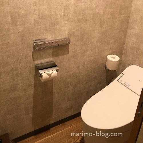 【宿泊記】梅小路ポテル京都のお部屋(ウッドフラットツイン):トイレ